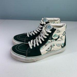Vans Sk8-Hi Sneakers Splatter Design Sz 8